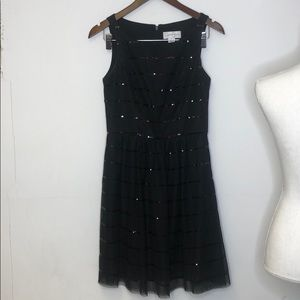 Jessica Simpson Dress Size 2 Holiday Black shine